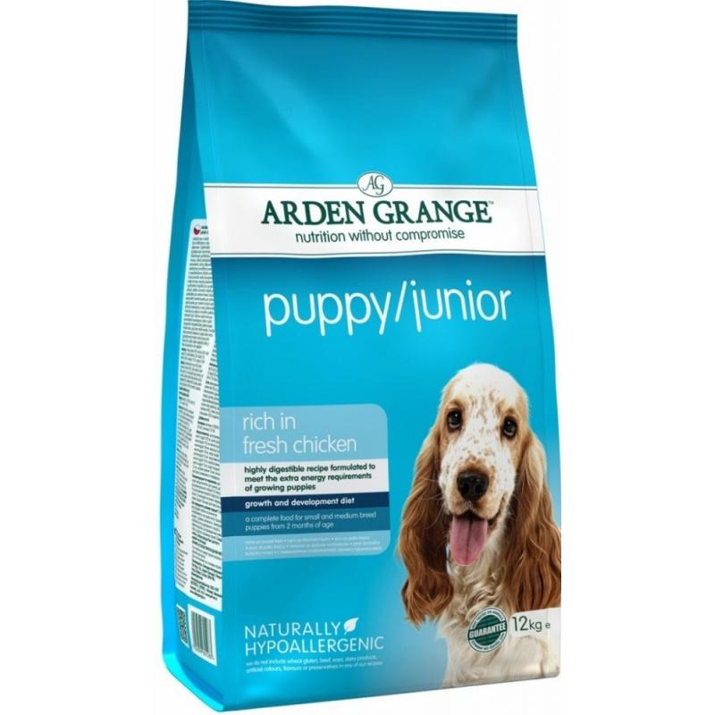 Arden Grange Puppy/Junior Арден Грандж корм для щенков и юниоров