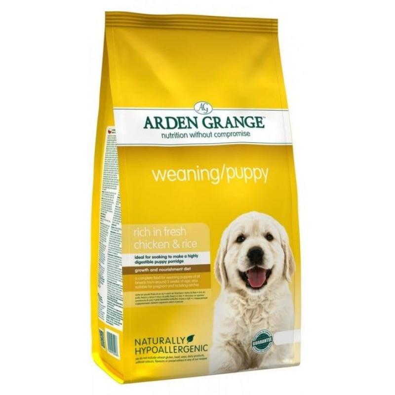 Arden Grange Weaning/Puppy Арден Грандж для щенков курица и рис