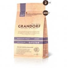 Grandorf ADULT STERILIZED Rabbit&Rice КРОЛИК С РИСОМ для стерилизованных кошек