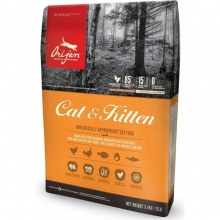 Orijen Cat and Kitten - корм Ориджен с цыпленком для кошек и котят всех пород