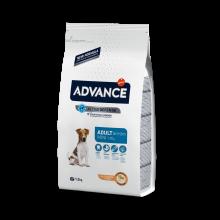 ADVANCE MINI ADULT корм с курицей для взрослых собак мелких пород