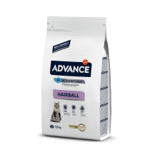 ADVANCE ЭДВАНС Cat Hairball с индейкой и рисом