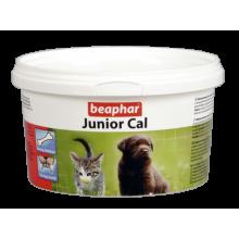 BEAPHAR Junior Cal пищевая добавка для щенков и котят 200г
