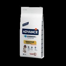 Advance Dog Med/Maxi Sensitive Salmon&Rice корм с лососем гипоаллергенный для взрослых собак