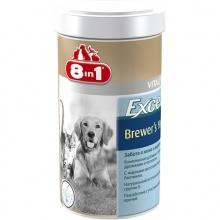 8in1 (8 в 1) Brewers Yeast Tablets with Garlic - пивные дрожжи с чесноком для собак и кошек