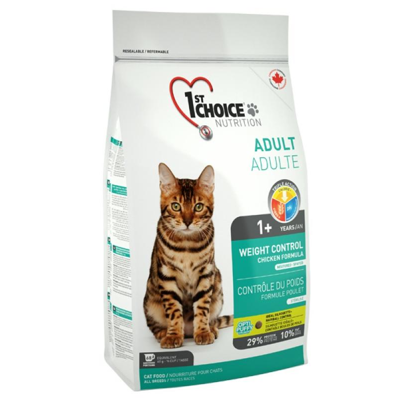 1st Choice (Фест Чойс) КОНТРОЛЬ ВЕСА корм для кастрированных котов