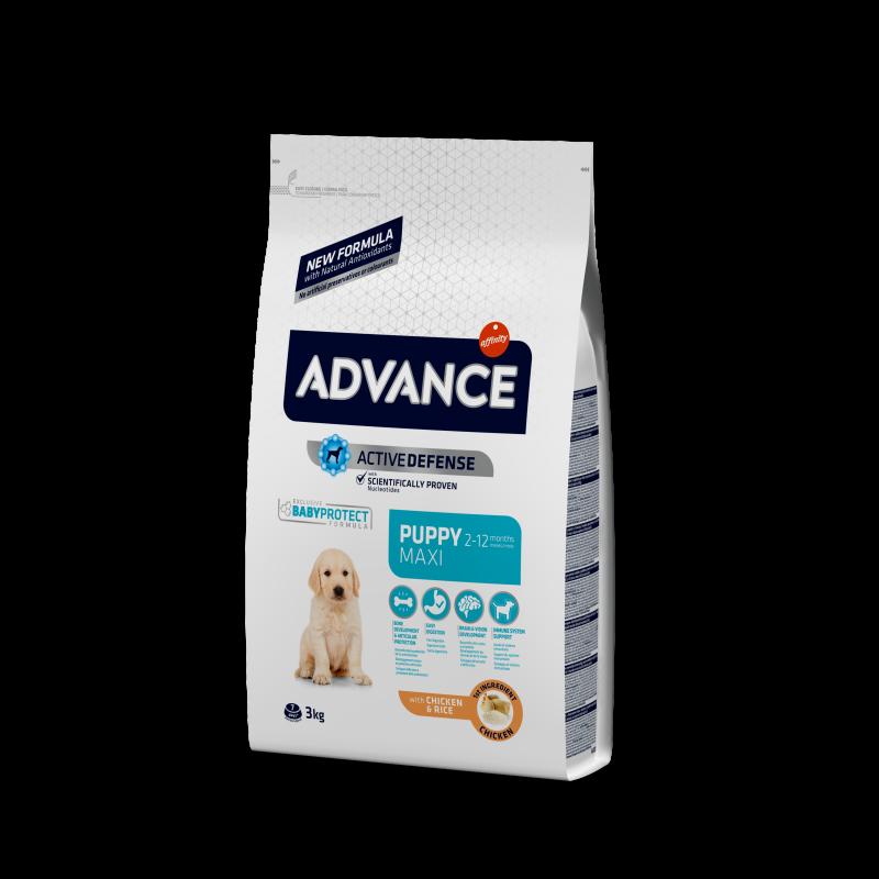 ADVANCE Maxi Puppy - КОРМ ЭДВАНС для щенков от 2-х до 12-ти месяцев