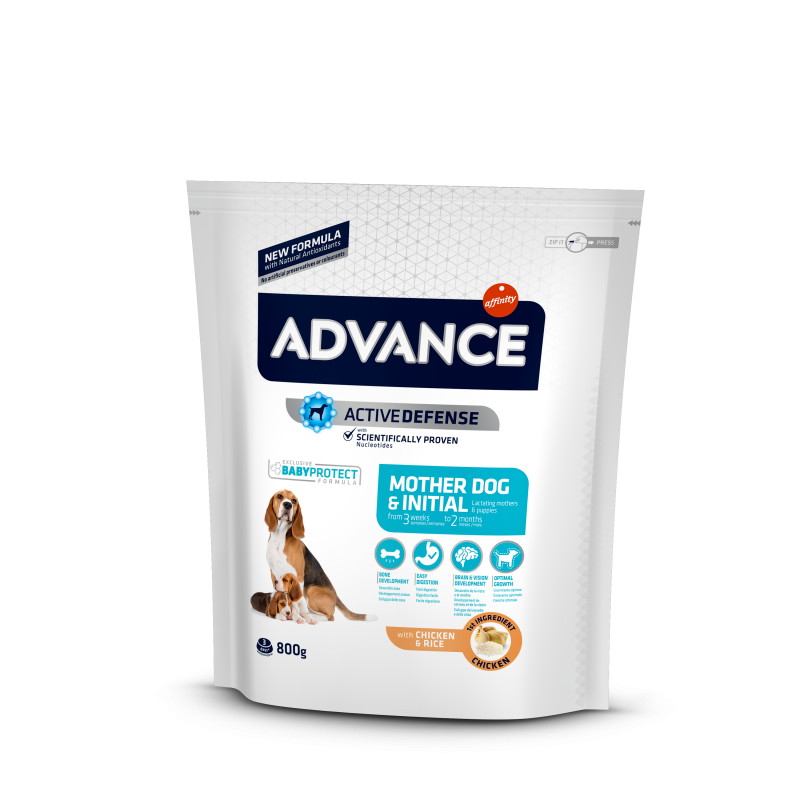 Advance Mother Dog & Initial корм для щенков и беременных и кормящих собак
