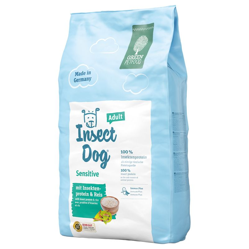 Green Petfood InsectDog sensitive корм для собак