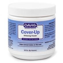Davis Cover-Up Whitening Powder ДЭВИС КАВЕР-АП маскирующая отбеливающая пудра для собак, котов 300 мл