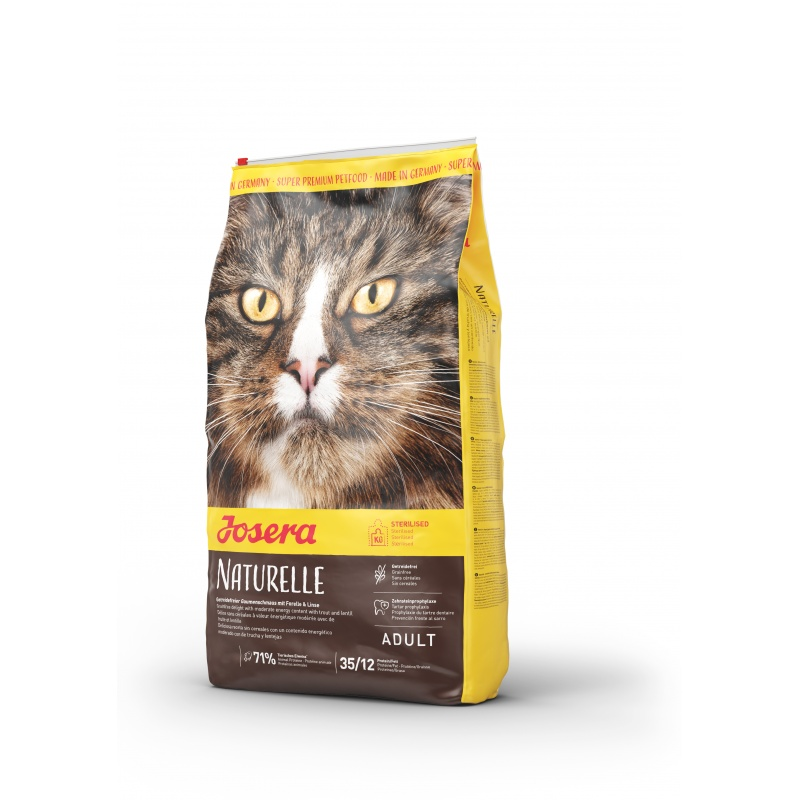 Josera Naturelle беззерновой корм для стерилизованных и малоактивных котов