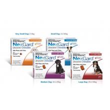Таблетки от блох и клещей для собак NexGard (Нексгард) 3 таблетки