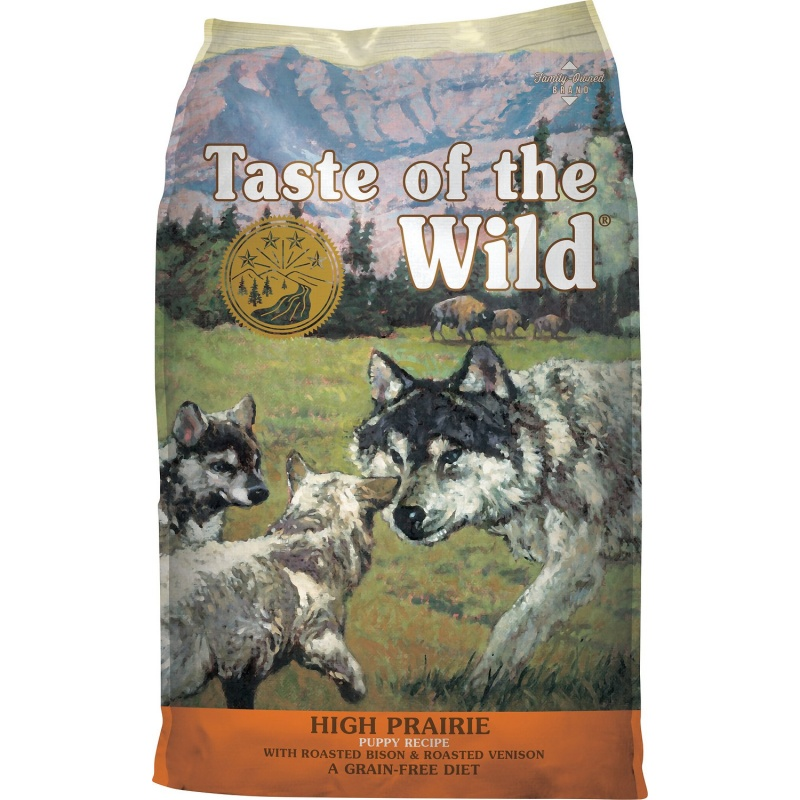 Taste of the Wild High Prairie Puppy Formula Grain-Free корм для щенков