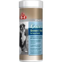 8in1 (8в1) Vitality Brewers Yeast for large breeds - пивные дрожжи с чесноком для собак крупных пород