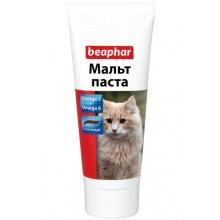 BEAPHAR Malt Paste средство для выведения шерсти из желудка у кошек