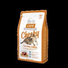 Brit Care Cat Cheeky I am Living Outdoor - высококачественный гипоаллергенный корм с олениной и рисом для взрослых кошек, живущих на улице