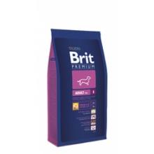 Brit Premium Adult S (Брит Премиум Эдалт Смолл) корм для взрослых собак маленьких пород (1–10 кг)