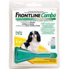 Frontline Combo (Фронтлайн Комбо) S - средство от блох и клещей для собак весом 2-10 кг