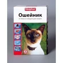 BEAPHAR Ungezieferband For Cats ошейник от блох и клещей для кошек,35 см