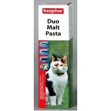 BEAPHAR Duo-Malt Paste средство для выведения шерсти из желудка двойного действия для кошек 100гр