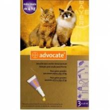 Bayer ADVOCATE - комплексное средство от паразитов для кошек более 4 кг