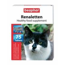 BEAPHAR Renaletten кормовая добавка для кошек с проблемами почек 75 табл.