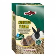 PRESTIGE наполнитель для туалетов прессованная солома Cubetto straw, 5 кг
