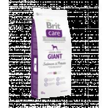 Brit CARE Grain Free Giant Salmon & Potato - беззерновой сухой корм с лососем и картофелем для взрослых собак гигантских пород от 45 кг