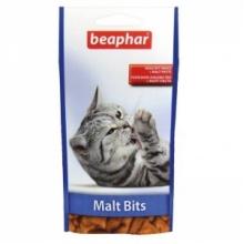 BEAPHAR Malt-Bits лакомство для выведения шерсти из желудка кошек
