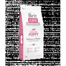 Brit CARE Grain Free Puppy Salmon & Potato - беззерновой сухой корм с лососем и картофелем для щенков от 4 недель до 12 месяцев