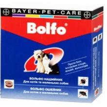 Больфо ошейник против блох и клещей для кошек и собак, 35 см