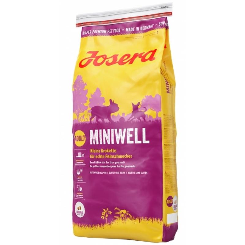 Josera Miniwell - корм для взрослых собак мелких пород