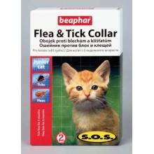 BEAPHAR S.O.S. Fleacollar Kitty ошейник для котят против блох 35 см