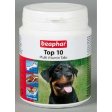 BEAPHAR Top 10 For Dogs пищевая добавка с L-карнитином для собак