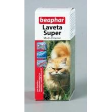 BEAPHAR Laveta Super For Cats витамины для шерсти кошкам 50мл