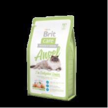 Brit Care Cat Angel I?m Delighted Senior - высококачественный гипоаллергенный корм с курицей и рисом для пожилых кошек (старше 7 лет)
