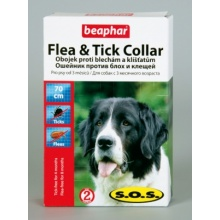 S.O.S. FLEA & TICK COLLAR FOR DOGS Ошейник для собак S.O.S. (70 см.)