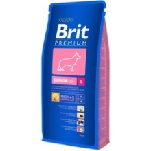 Brit Premium Junior Large (Брит Премиум Джуниор Лардж) корм для щенков крупных пород в возрасте от 3 до 24 месяцев