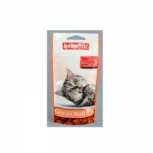 BEAPHAR Malt-Bits with Salmon средство для выведения шерсти из желудка кошек со вкусом лосося