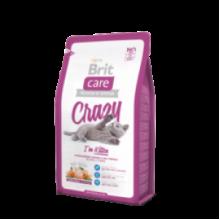 Brit Care Cat Crazy I am Kitten - высококачественный гипоаллергенный корм с курицей и рисом для котят