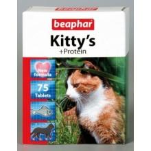 BEAPHAR Kitty's + Protein витаминизированное лакомство для кошек, с протеином
