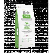 Brit CARE Grain Free Adult Lardge Breed Salmon & Potato - беззерновой сухой корм с лососем и картофелем для взрослых собак крупных пород от 25 кг