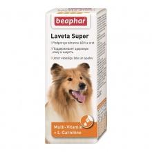 BEAPHAR Laveta Super For Dogs витамины для шерсти собакам 50 мл