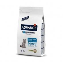 Advance Cat Sterilized корм для стерилизованных кошек c индейкой