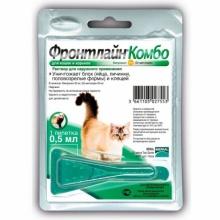 Frontline Combo (Фронтлайн Комбо) капли на холку для кошек