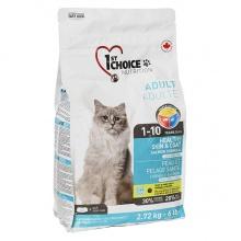 1st Choice Healthy Skin&Coat Adult сухой супер премиум корм для котов