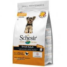 Schesir Dog Small Adult Chicken ШЕЗИР ВЗРОСЛЫЙ МАЛЫХ КУРИЦА сухой монопротеиновый корм для собак малых пород