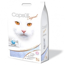 Capsull Original (baby powder) КАПСУЛ ОРИДЖИНАЛ кварцевый наполнитель для туалетов кошек, кристаллы 1-8 мм, для всех котов