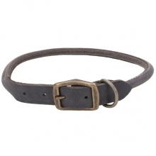 Coastal Circle T круглый кожаный ошейник для собак, 1х40см