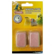 Flamingo Pickstone ФЛАМИНГО минеральный камень для птиц, розовый, 4х3х2см